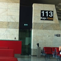Photo taken at Gate 113 by oktay a. on 8/15/2011