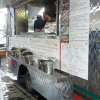 Photo taken at Red Hook Ballfield Food Vendors by Tom M. on 7/29/2012