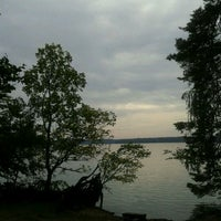 Photo taken at Großer Stechlinsee by Janin on 9/5/2011
