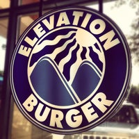 Photo taken at Elevation Burger by Rabah R. on 9/4/2012