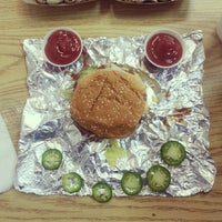 Photo taken at Five Guys by Ted E. on 7/13/2012