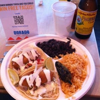 Photo taken at Dorado Tacos & Cemitas by DJ S. on 7/21/2011