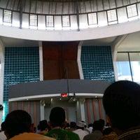 Photo taken at Masjid An-Nur SMAMDA - UMSIDA by Muchammad D. on 4/6/2012