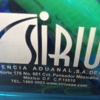 Photo taken at Sirius Agencia Aduanal by Alfonso R. on 5/23/2012