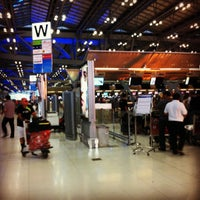 """Photo taken at Check-In Row """"W"""" by Chompoo L. on 2/22/2012"""
