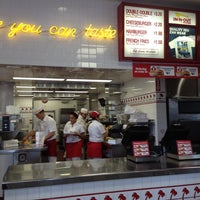 Photo taken at In-N-Out Burger by Sher C. on 7/12/2012