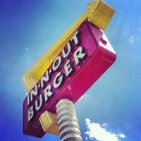 Photo taken at In-N-Out Burger by Courtney C. on 8/26/2012