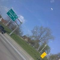 Photo taken at I-75 & Ambassador Bridge by Onisha C. on 4/19/2012