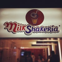 Photo taken at MilkShakeria by Prefeito V. on 4/20/2012