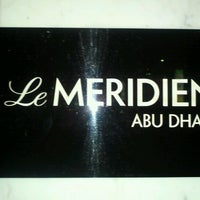Photo taken at Le Méridien Abu Dhabi by Jokasso on 7/17/2012