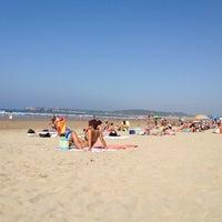 Photo taken at Playa de Salinas / San Juan de Nieva by Diego on 8/9/2012