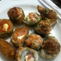 Photo taken at A3 Sushi by Priscilla R. on 8/25/2012