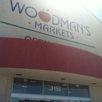 Photo taken at Woodman's Food Market by Cat G. on 6/25/2012