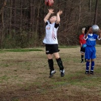 Photo taken at Preston Soccer Fields by Richard J. on 2/28/2012