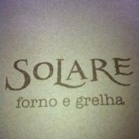 Foto tirada no(a) Solare Forno e Grelha por Raquel O. em 5/6/2012