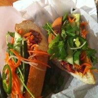 Photo taken at Banh Mi & Co by Kinsey M. on 6/24/2012