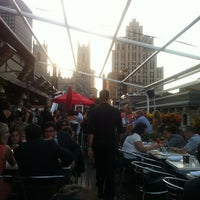 Photo taken at Terrasse Nelligan by Mathieu G. on 8/30/2012