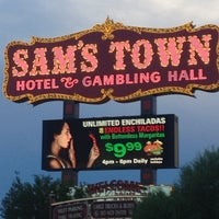 Photo taken at Sam's Town Hotel & Gambling Hall by Ron W. on 8/4/2012