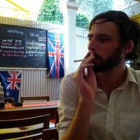 Photo taken at Aussie XL Cafe by Lareina on 6/20/2012