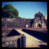 Foto tirada no(a) Fort Santiago por Arnold Cesar R. em 4/14/2012