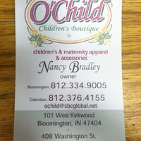Photo taken at O'Child Children's Boutique by Brittany Z. on 2/9/2012