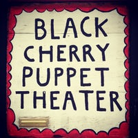 Photo taken at Black Cherry Puppet Theater by Andrew on 8/19/2012