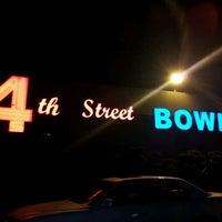 Photo taken at 4th Street Bowl by Ingrid M. on 3/30/2012