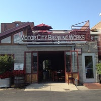 Photo taken at Motor City Brewing Works Inc by Rich M. on 8/31/2012