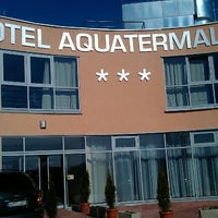 Photo taken at Hotel Aquatermal by Jozef K. on 3/4/2012
