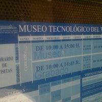 Photo taken at Museo Tecnológico del Vidrio by Mateus B. on 5/15/2012