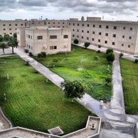 Photo taken at Dorms, KFUPM Building 845 by Mohamad D. on 5/4/2012