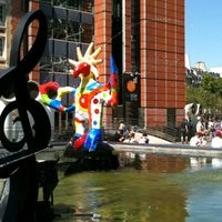 Photo taken at Stravinsky Fountain by Christophe C. on 8/10/2012