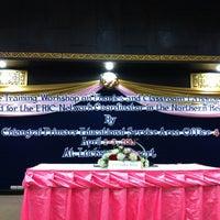 Photo taken at ห้องกินรี โรงแรมลักษวรรณ by Pongpun T. on 4/2/2012