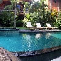 Photo taken at Wenara Bali Bungalow by Haluk A. on 3/2/2012