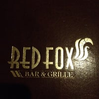 Photo taken at Red Fox Bar and Grille by Paul N. on 8/26/2012