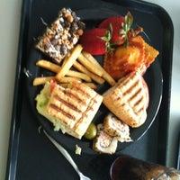 Photo taken at Ernie Davis Dining Center by Ariel E. on 4/20/2012