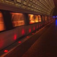 Photo taken at Pentagon Metro Station by Shawn B. on 7/14/2012