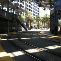Photo taken at America Plaza Trolley Station by Tim M. on 6/20/2012