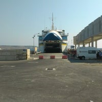 Photo taken at Cirkewwa Ferry Terminal by Niv K. on 8/19/2012