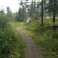Photo taken at Harestua stasjon by Petter W. on 6/30/2012