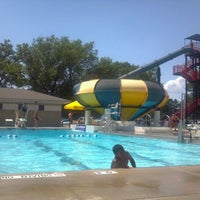 Photo taken at Independence Aquatic Pool by Abby P. on 5/29/2012
