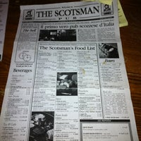 Photo taken at The Scotsman by Riccardo M. on 9/8/2012