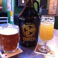 Photo taken at Trinity Brewing Company by Debbie W. on 3/4/2012