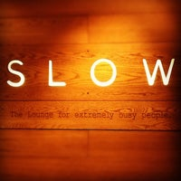 Photo taken at SLOW Lounge (Domestic) by Hello A. on 8/23/2012