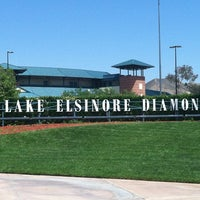Photo taken at Lake Elsinore Diamond by Lisa K. on 5/13/2012