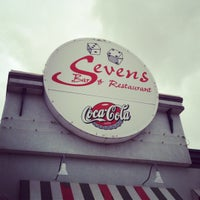 Photo taken at Sevens Restaurant & Bar by Justin C. on 5/25/2012