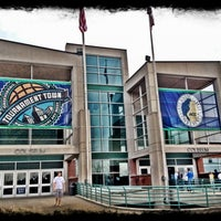 Photo taken at Greensboro Coliseum Complex by Hunt W. on 3/18/2012