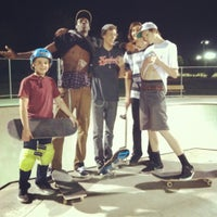Photo taken at Freestone Skate Park by Gregory D. on 3/14/2012