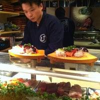 Photo taken at Yoshi Sushi by Sophie G. on 3/18/2012