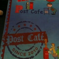 Photo taken at Post Cafe by Joanne K. on 9/6/2012